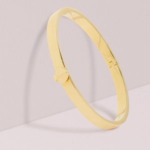 Kate Spade heritage bangle bracelet gold